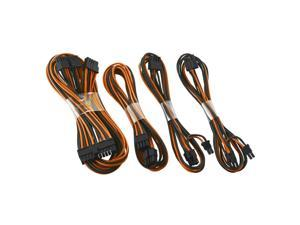 CableMod SE-Series ModFlex Basic Cable Kit for Seasonic  KM3 & XP2 - Black / Orange