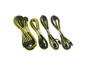 CableMod SE-Series ModFlex Basic Cable Kit for Seasonic  KM3 & XP2 - Black / Yellow