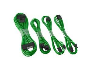 CableMod SE-Series ModFlex Basic Cable Kit for Seasonic  KM3 & XP2 - Green