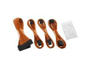 CableMod® ModFlex™ Basic Cable Extension Kit - 6+6 Pin Series - ORANGE