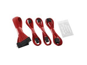 CableMod® ModFlex™ Basic Cable Extension Kit - 6+6 Pin Series - RED