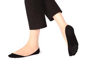 Sheec SoleHugger Secret - Women's Cotton Extremely Low-Cut No Show Hidden Socks (4 pairs)