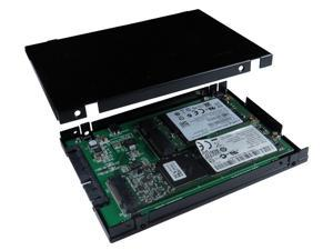 "Minerva SATA III to M.2 & mSATA SSD Adapter with 2.5"" Aluminum Housing"