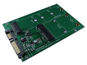 Minerva SATA III to M.2 & mSATA SSD Adapter