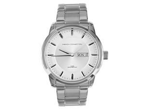 French Connection Silver Bracelet Mens Watch FC1158SM