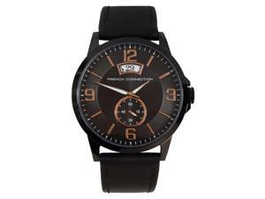 FC1209BB French Connection Mens FCUK Quartz Dress Analog Watch