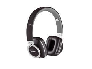 Veho VEP-008-Z8 360 Z8 Designer Aluminium Headphones with Detachable Flex Cord System, Folding Design and Carry Pouch