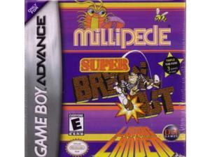 SUPER BREAKOUT/LUNAR LANDER/MILLIPEDE / GAME [GAME BOY ADVANCE]