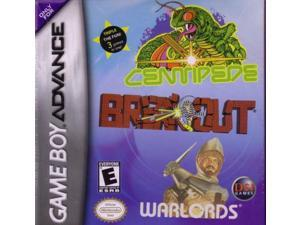 BREAKOUT/CENTIPEDE/WARLORDS / GAME [GAME BOY ADVANCE]