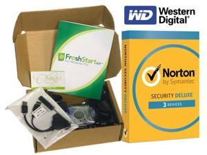 FreshStart Kit for Windows 7 Home Premium 32 Bit Desktop