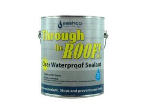 Gallon Through the Roof Clear Brushable Non-Asphalt Roof Sealant