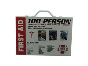 100 Person First Aid Kit (Metal Case)