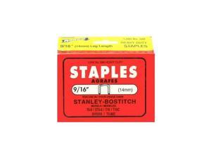 "9/16"" Stanley Bostitch Staples (1,000)"