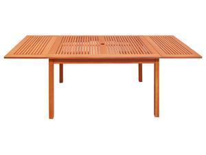 V1564 Outdoor Eucalyptus Rectangular  Dining Table