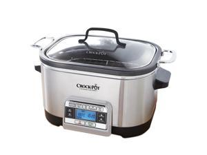 Crock-Pot 5-in-1 Multi-Cooker, Stainless CKCPSCMC6-033