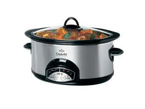 Crock-Pot Smart-Pot Programmable 6 Qt. Slow Cooker, Stainless SCVP600SS-033