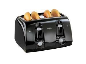 Sunbeam4-Slice Toaster, Black 3911-033