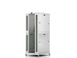 "33U 32"" Deep Free Standing Server Rack Cabinet.  ACCESSORIES FREE!! Thermo Control System, 4 Fan Cooling Panel, Vented Shelf, Fully Lockable Innovated Design Network IT Server Rack Enclosure"