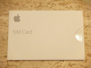 Apple Nano Sim Card for iPad models with Touch ID Air 2 mini MJVV2LL/A