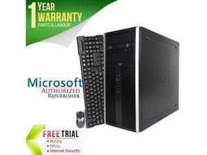 Refurbished  HP Desktop Computer Elite 8000 Core 2 Duo E8400 (3.00 GHz) 4  GB DDR3 320 GB HDD e888e3433d7b