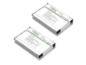 ML 2x 1.05Ah NP-20 Lithium Ion Rechargeable Battery for EX-S600 S770 Z75 Z77 Camera