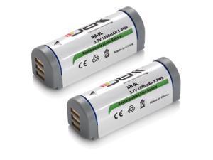 ML 2x NB-9L NB9L Batteries for Canon PowerShot ELPH 510 HS 520 HS 530 HS SD4500 IS