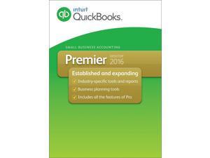 Intuit QuickBooks Premier 2016 Desktop 2-user