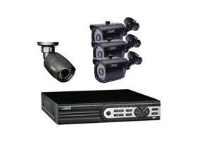 Q-See QT608-4F5-1 8-Channel 1TB Hybrid DVR Surveillance System w/Smartphone Remote Access USB & HDMI