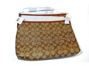 NWT Coach Original File Bag Khaki Saddle Crossbody F34938 Imbdx