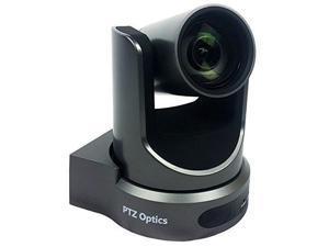 PTZOptics 12X-SDI PTZ IP Streaming Camera with Simultaneous HDMI and HD-SDI Outputs - Gray