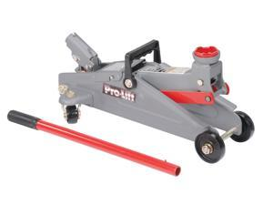 Pro-Lift F-2315PE Grey Hydraulic Trolley Jack Car Lift with Blow Molded Case (3000 lbs Capacity)