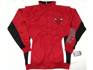 Chicago Bulls Majestic Tricot Jacket Big and Tall Size LT