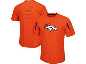 Denver Broncos Fanfare VII CoolBase Performance T Shirt Big and Tall Size 6XL