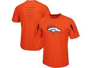 Denver Broncos Fanfare VII CoolBase Performance T Shirt Big and Tall Size 2XT