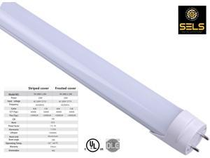 SELS LED Tube 18 Watts 4 Ft, T8, T12,  Fluorescent tube replacement UL, Daylight