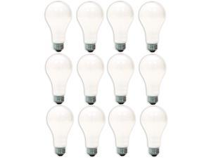 GE Lighting 97482-12 50/200/250-Watt A21 3-Way Soft White Light Bulb 12-Pack