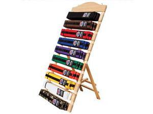 Free Standing Ten Level Martial Arts Karate Taekwondo Belt Display Rack Holder