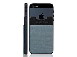 SINJIPOUCH B3 Stick-On Wallet making Your Smart phone turn into Wallet Case, ...