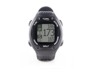 POSMA GT1 Golf Trainer GPS Golf Watch Range Finder, Preloaded Golf Courses no download no subscription, Black, courses incl. US, Canada, Europe, Australia, New Zealand