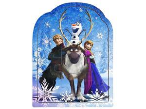 Disney Frozen Shaped Puzzle (12 Pcs)