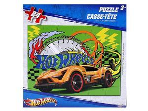 Hot Wheels 24 pc. Puzzle [Yellow Car]