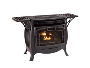 Duluth Forge Dual Fuel Vent Free Gas Stove - Model FDSR25, Matte Finish, Remote Control