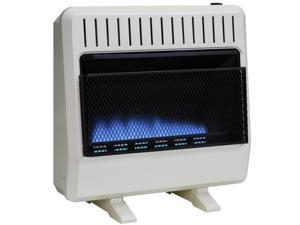 Avenger Dual Fuel Vent Free Blue Flame Heater - 30,000 BTU, Model# FDT30BF