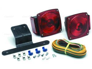 "Stop light OPTRONICS Submersible Under 80"" Trailer Light"