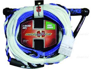 5 section wakeboard tow rope HYDROSLIDE 5 Section Wakeboard rope