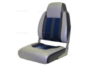 High-back fold-down seat WISE Sportman I Seat Gray, Blue, Charcoal 8WD-3301-840