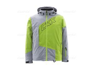 Men - 3 Colors - Silver, Charged Green, Khaki - Regular CKX Pulse Jacket Large