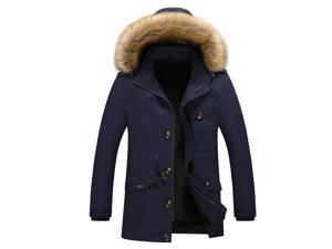 Winter Coat Padded Jackets Men's Hooded Down Jacket High Quality