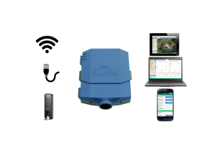 BlueSpray BSC08i Web Based Wireless Irrigation Controller - 8 Zones
