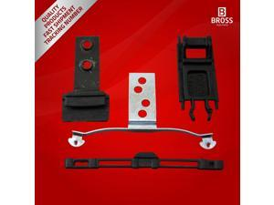 BSR510:4 Parts Sunroof Repair Set for BMW E46: 54138246027 1998-2004